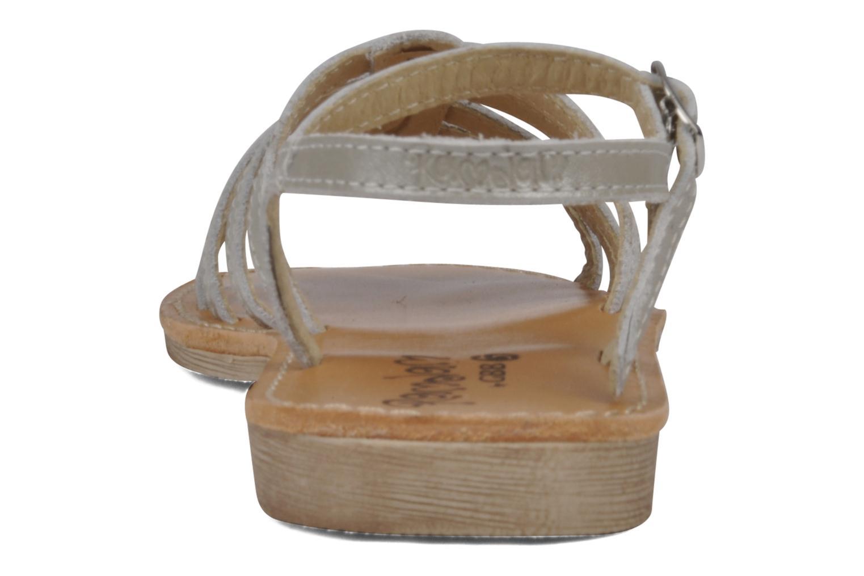 Sandalen GBB Laponie Zilver rechts