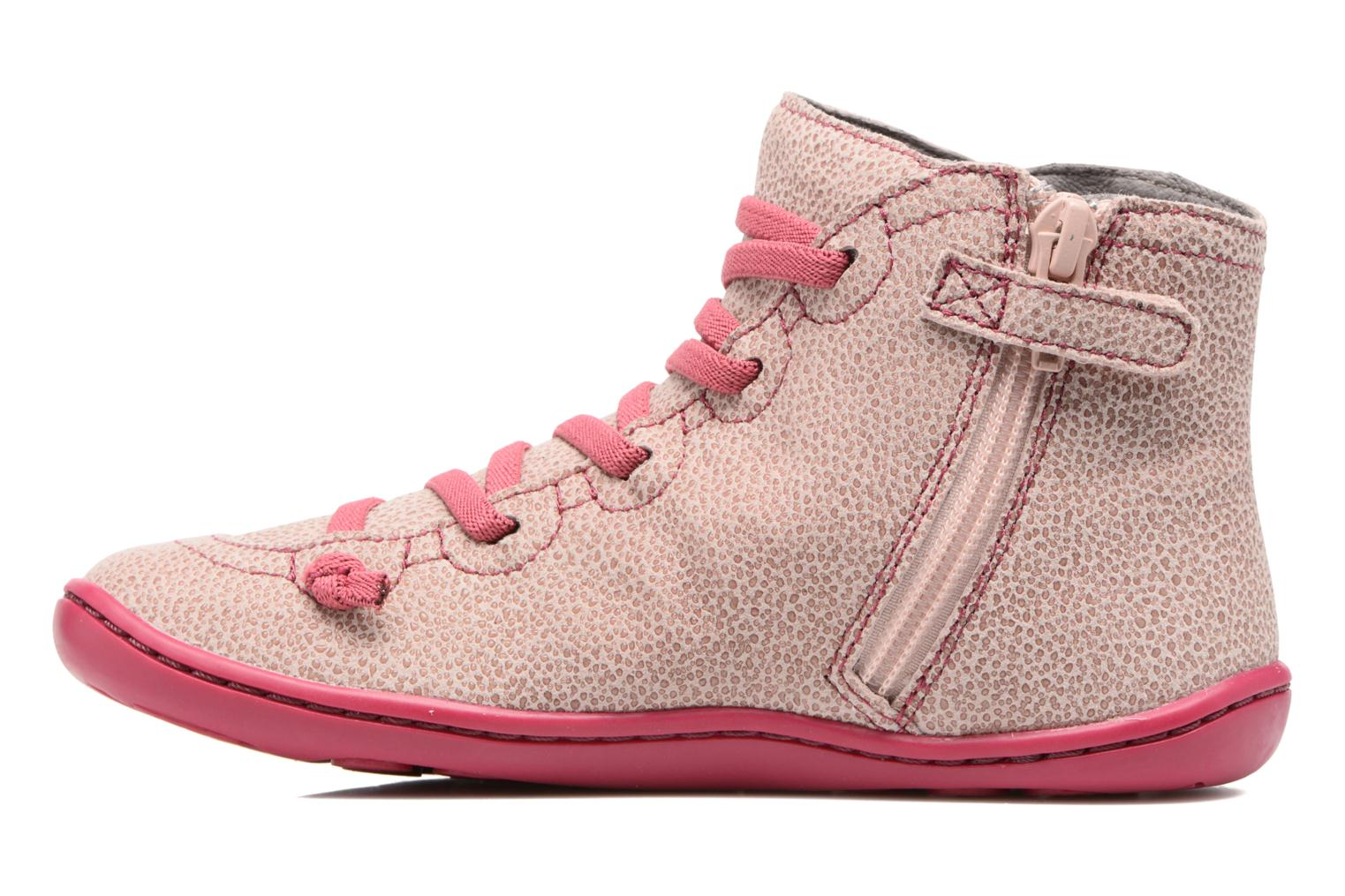 Ankle boots Camper Peu cami 90085 Pink front view