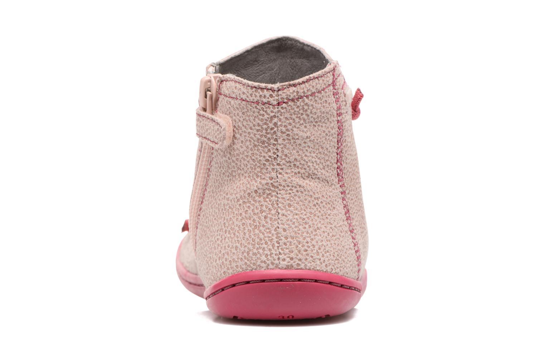 Ankelstøvler Camper Peu cami 90085 Pink Se fra højre