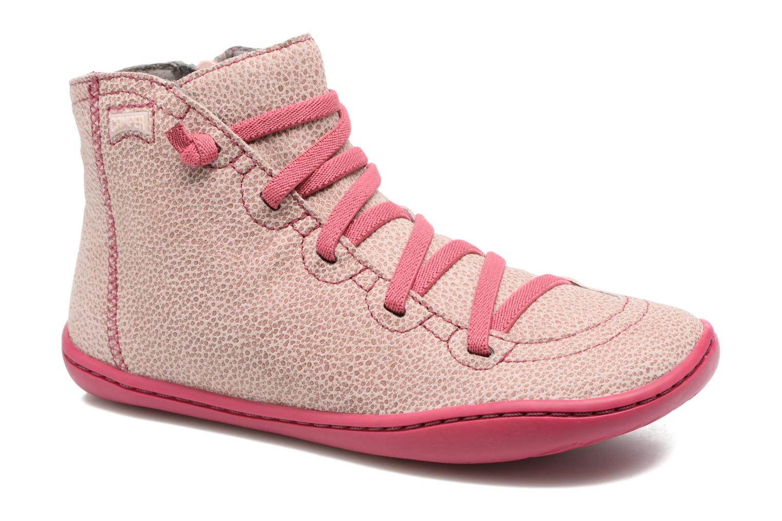 Ankle boots Camper Peu cami 90085 Pink detailed view/ Pair view