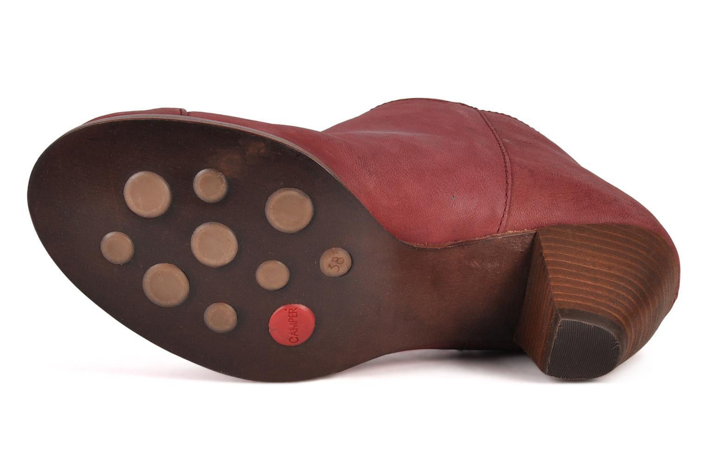 Bottines et boots Camper Annie alto 46335 Rouge vue haut