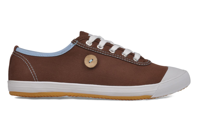 Sneakers Faguo Oak w Bruin achterkant