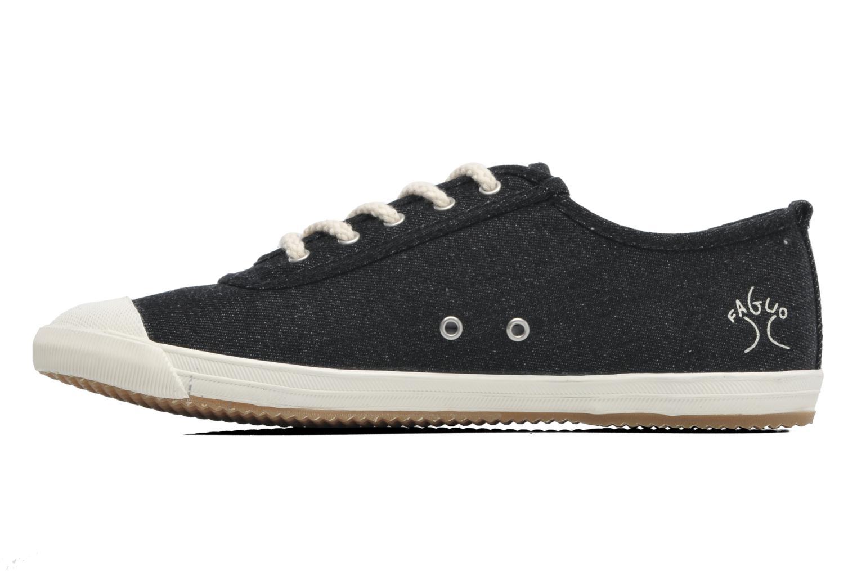 Sneaker Faguo Oak m schwarz ansicht von vorne