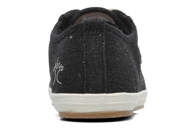 Sneaker Faguo Oak m schwarz ansicht von rechts