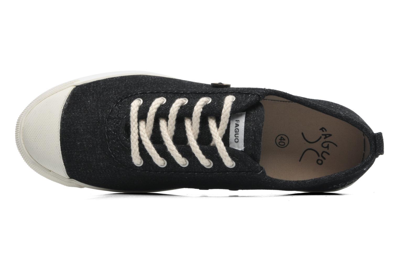 Sneaker Faguo Oak m schwarz ansicht von links