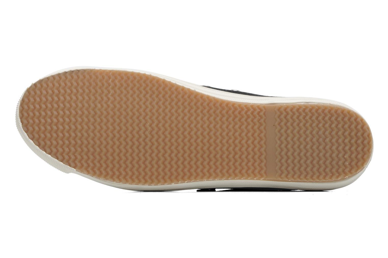 Sneaker Faguo Oak m schwarz ansicht von oben