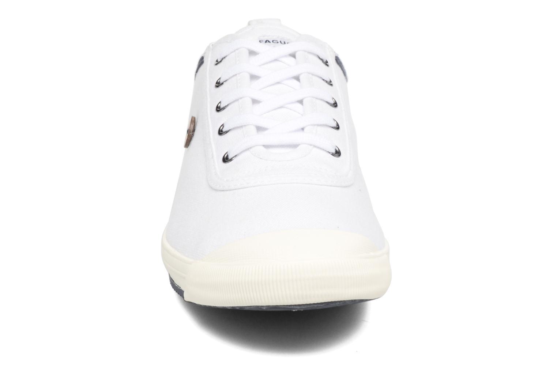 Baskets Faguo Oak m Blanc vue portées chaussures