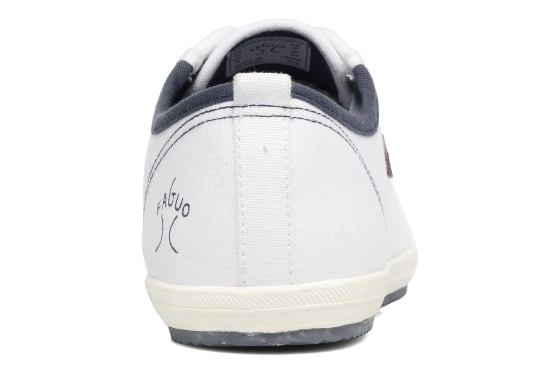 Baskets Faguo Oak m Blanc vue droite