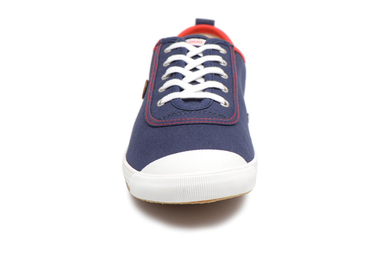 Baskets Faguo Oak m Bleu vue portées chaussures