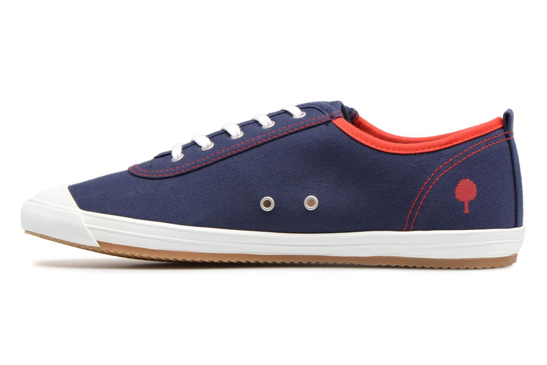 Sneaker Faguo Oak m blau ansicht von vorne