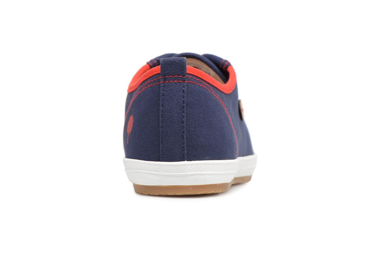 Sneaker Faguo Oak m blau ansicht von rechts