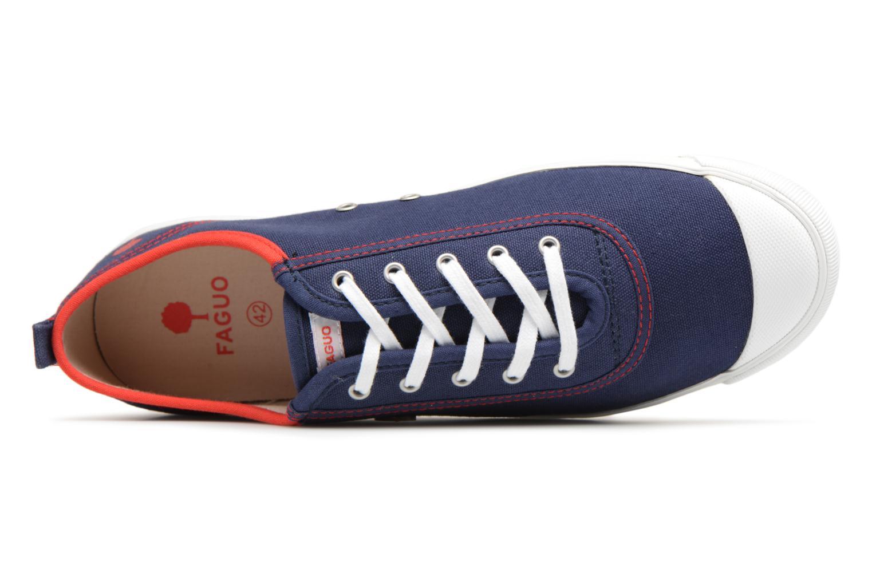 Sneaker Faguo Oak m blau ansicht von links
