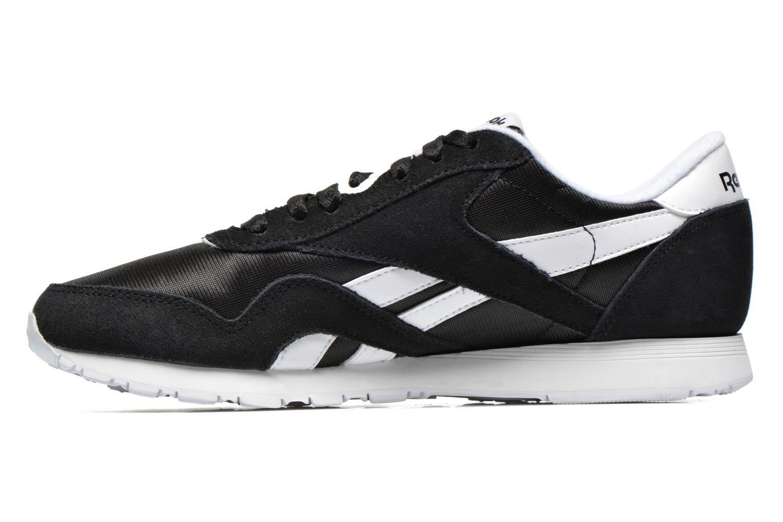 Sneaker Reebok Classic Nylon W schwarz ansicht von vorne
