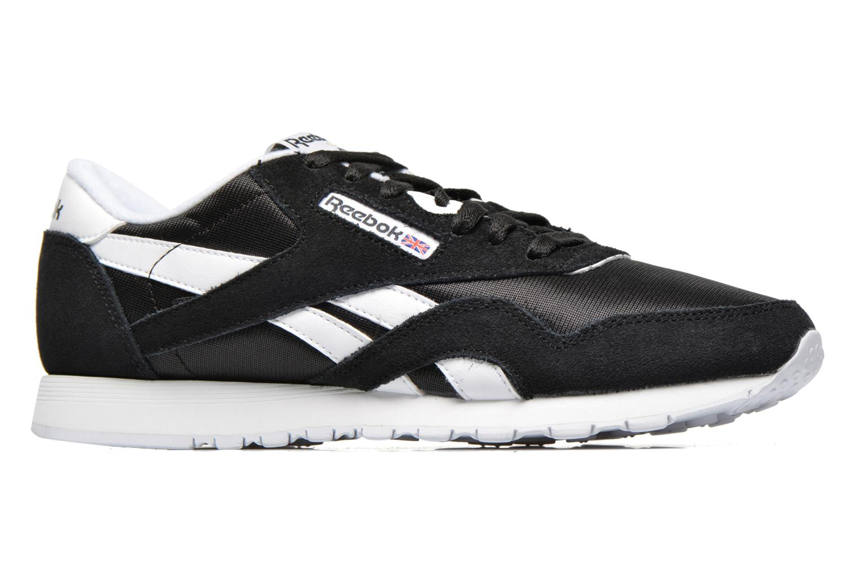Sneaker Reebok Classic Nylon W schwarz ansicht von hinten