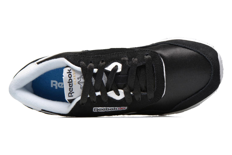 Sneaker Reebok Classic Nylon W schwarz ansicht von links