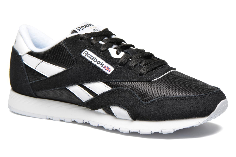 Sneaker Reebok Classic Nylon W schwarz detaillierte ansicht/modell