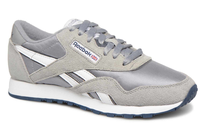 Zapatos promocionales Reebok Classic Nylon W (Azul) - Deportivas   Venta de liquidación de temporada