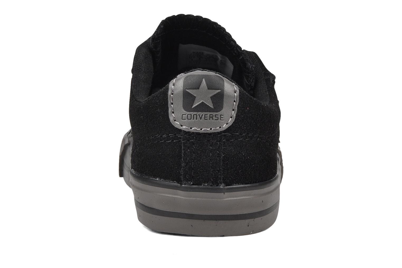 Sneaker Converse Star player 2v suede ox schwarz ansicht von rechts