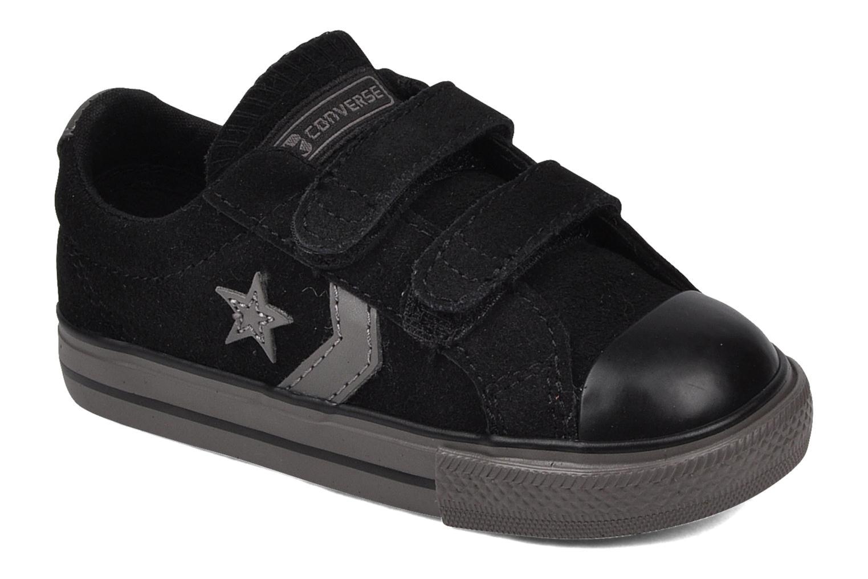 Sneaker Converse Star player 2v suede ox schwarz detaillierte ansicht/modell