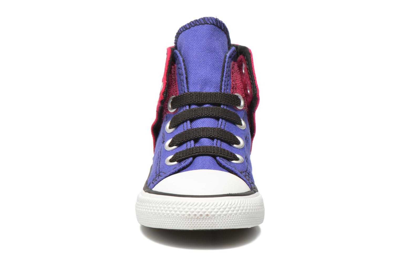 Baskets Converse Chuck taylor all star easy slip hi K Violet vue portées chaussures