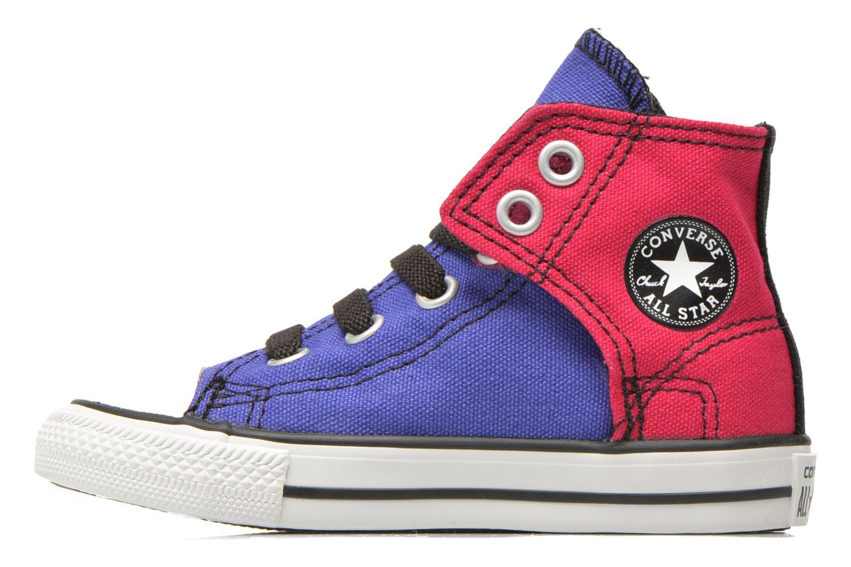 Baskets Converse Chuck taylor all star easy slip hi K Violet vue face