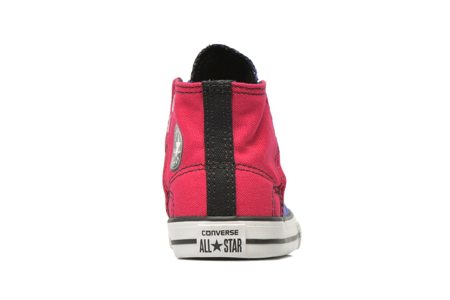 Sneakers Converse Chuck taylor all star easy slip hi K Paars rechts