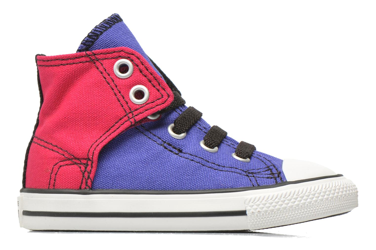 Sneakers Converse Chuck taylor all star easy slip hi K Paars achterkant
