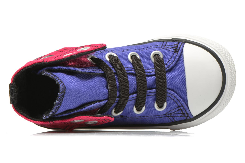 Baskets Converse Chuck taylor all star easy slip hi K Violet vue gauche