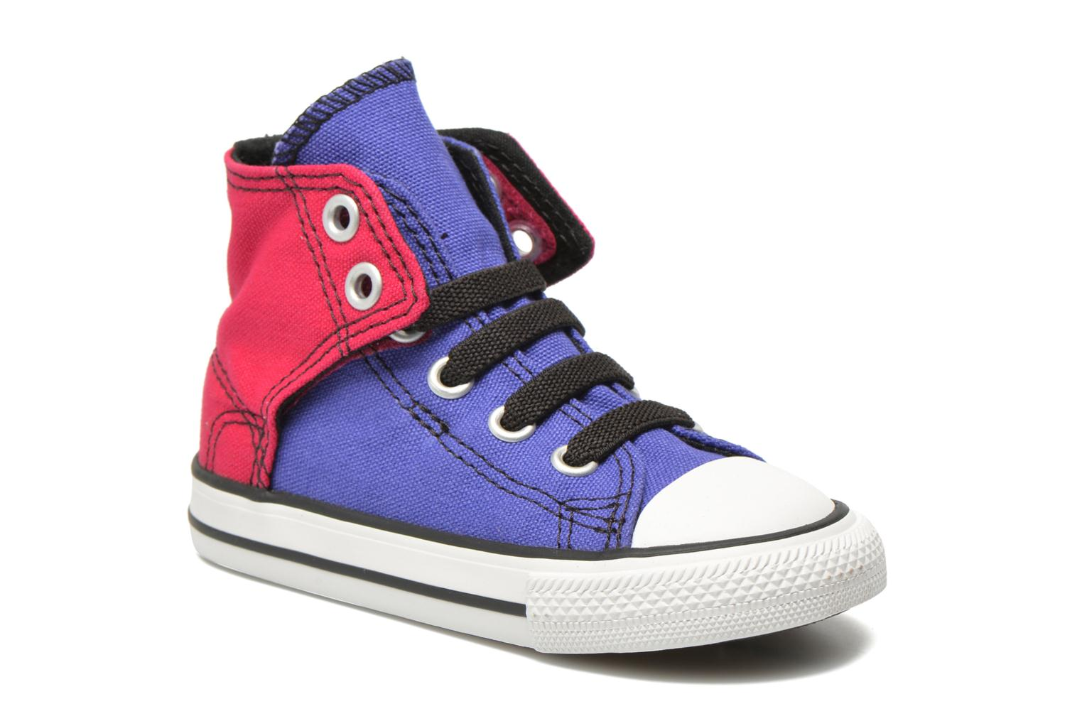 Sneakers Converse Chuck taylor all star easy slip hi K Paars detail