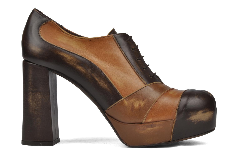 Chaussures à lacets Jeffrey Campbell Alexia Marron vue derrière