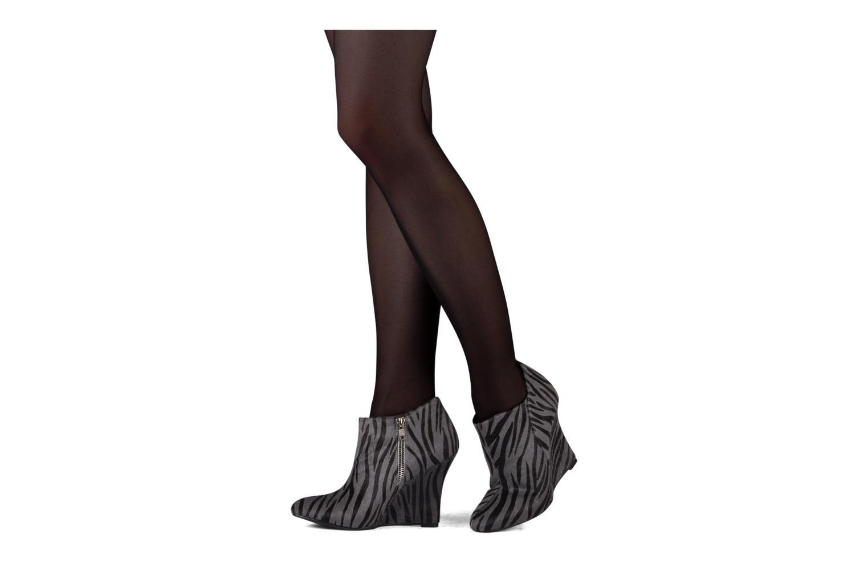 Bottines et boots Friis & company Primula Gris vue bas / vue portée sac