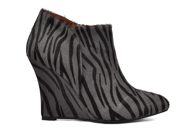 Boots en enkellaarsjes Friis & company Primula Grijs achterkant