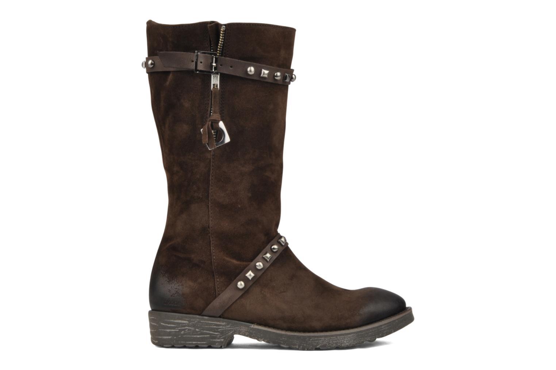 Boots en enkellaarsjes Dkode Melita Bruin achterkant