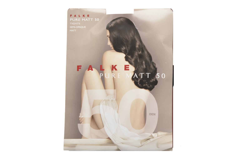 Chaussettes et collants Falke Collant pure matt 50 Noir vue détail/paire