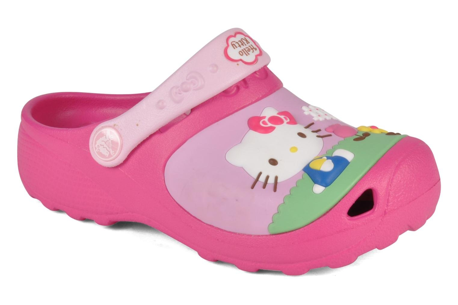 Sandalen Crocs Hello kitty custom clog Roze detail