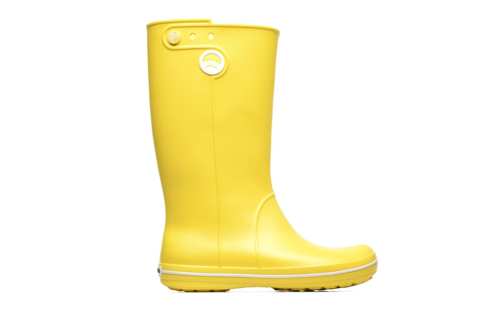Boots & wellies Crocs Crocband jaunt women's Yellow back view