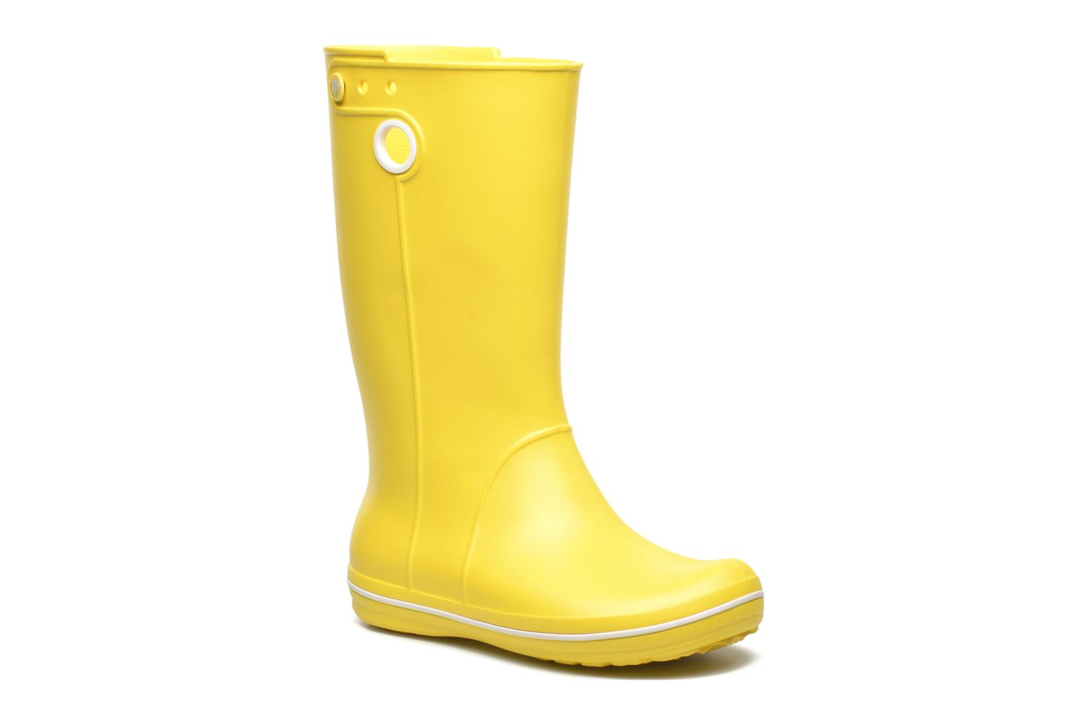 Boots & wellies Crocs Crocband jaunt women's Yellow detailed view/ Pair view