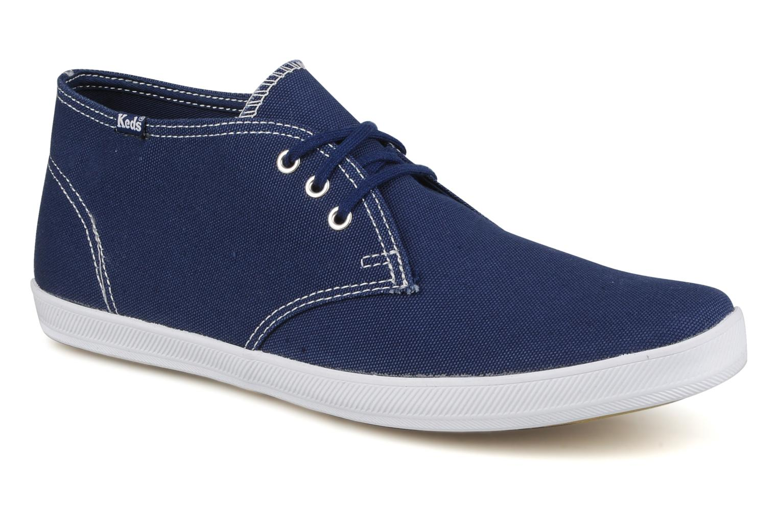 Trainers Keds Chukka Canvas Blue detailed view/ Pair view