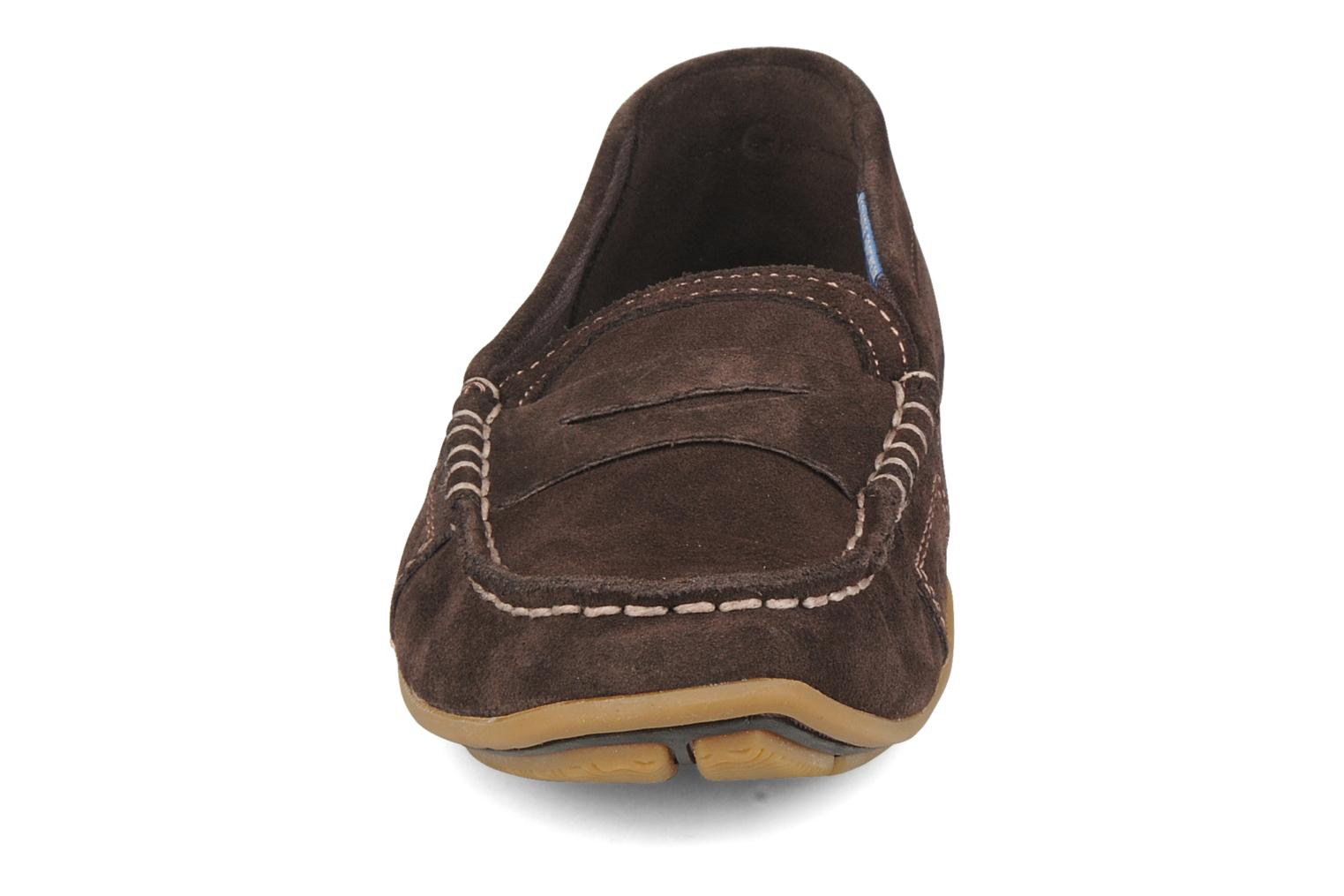 Loafers Rockport Mesh moc Brown model view