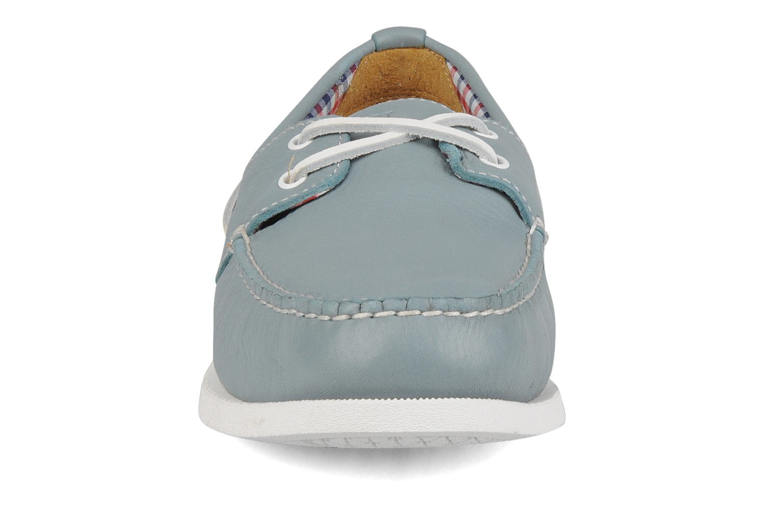 Lace-up shoes Rockport 2 eye boat Blue model view
