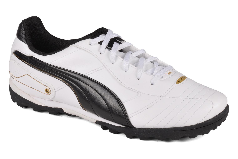 Chaussures de sport Puma Esito finale trainer Blanc vue détail/paire