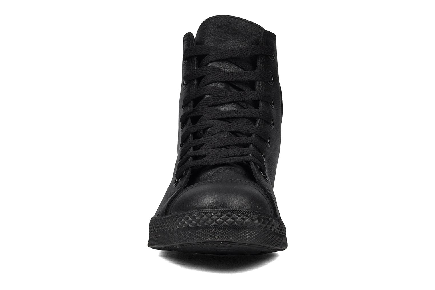 Trainers Converse Chuck Taylor mnml wingtip hi M Black model view