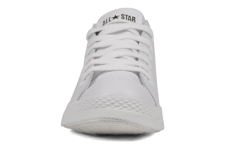 Baskets Converse Chuck Taylor mnml wingtip ox W Blanc vue portées chaussures