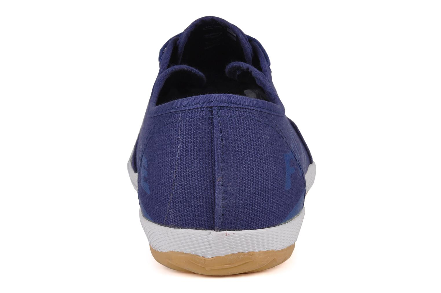 Trainers Feiyue Fe lo plain m Blue view from the right