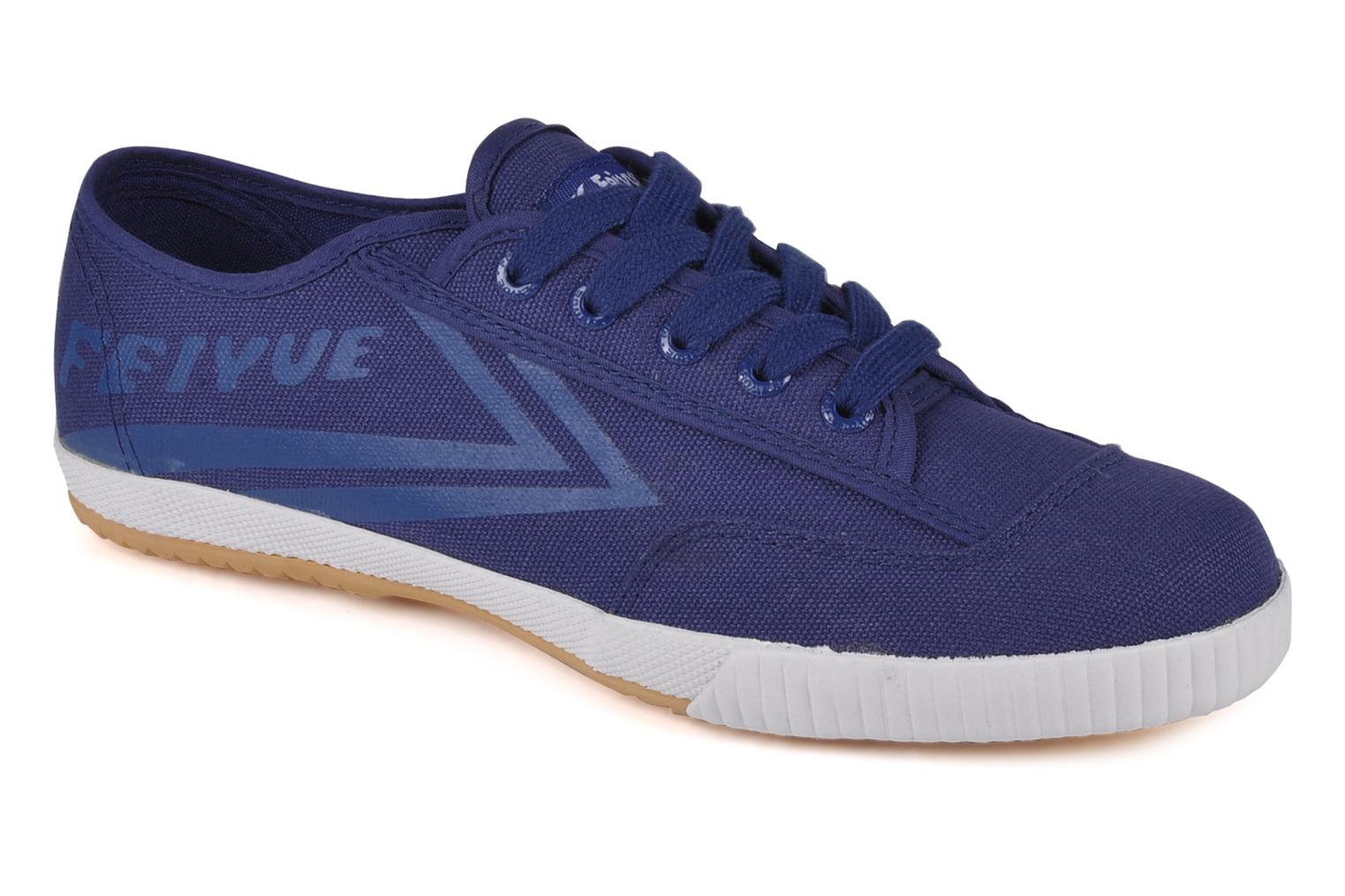 Trainers Feiyue Fe lo plain m Blue detailed view/ Pair view