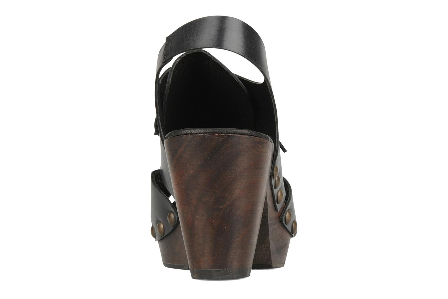 Mules & clogs Georgia Rose Noena Black view from the right