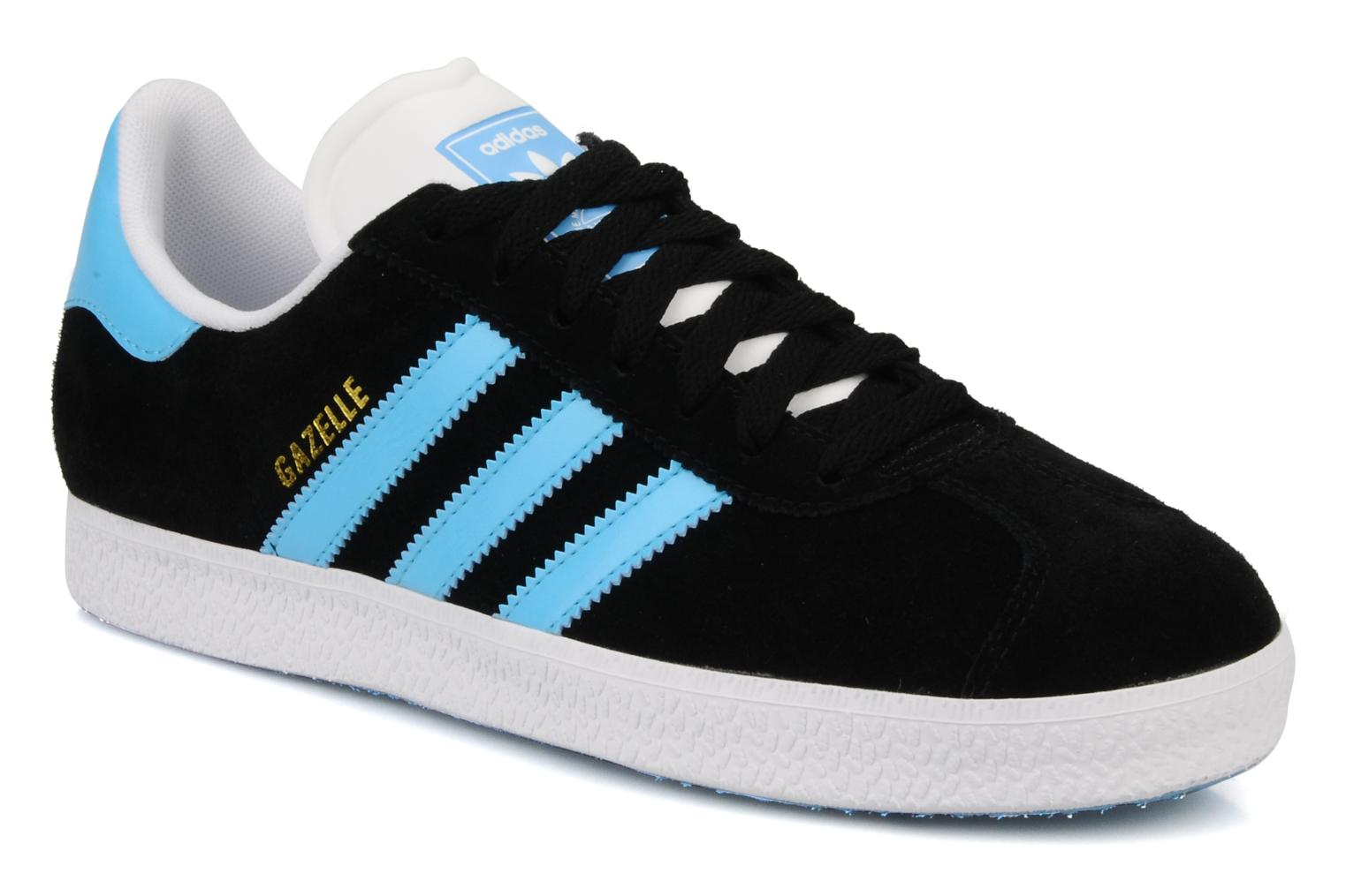 Baskets Adidas Originals Gazelle 2 Noir vue détail/paire