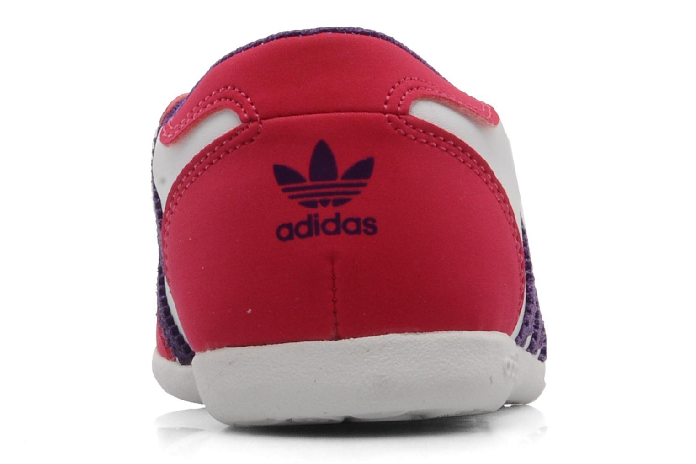 Ballerina's Adidas Originals Forum slipper Wit rechts