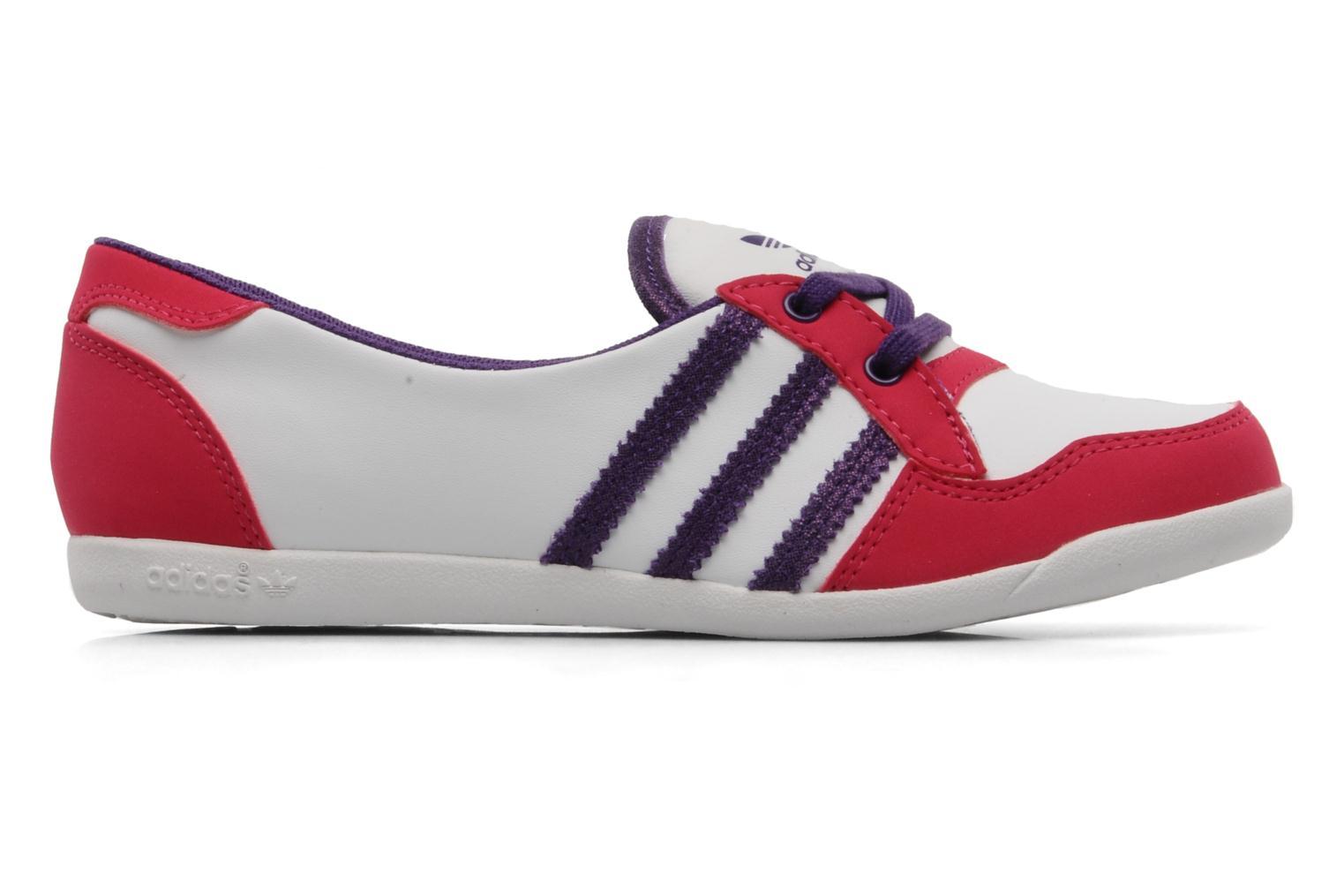 Ballerina's Adidas Originals Forum slipper Wit achterkant