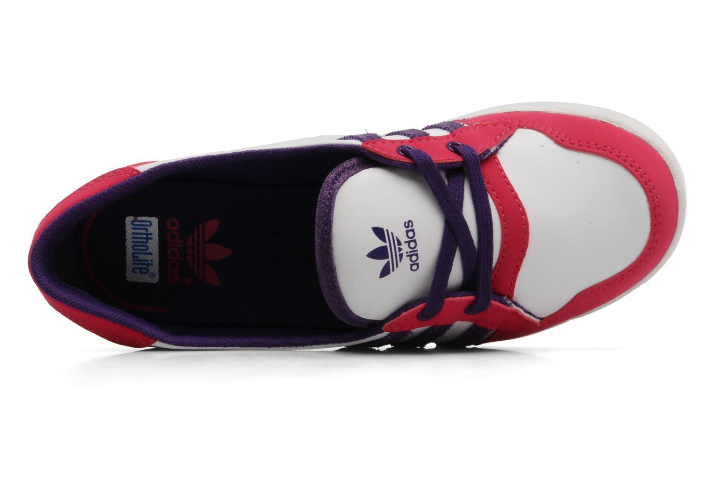 Ballerina's Adidas Originals Forum slipper Wit links